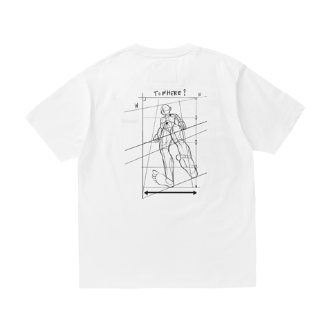 Bodysketch T-shirt - White