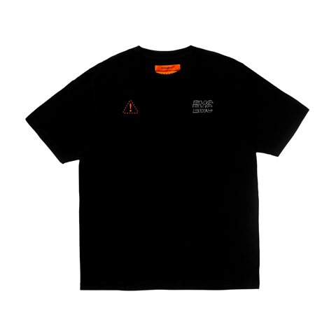 Distort Logo T-shirt - Black