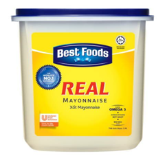 Xốt mayonnaise Best Foods 3L