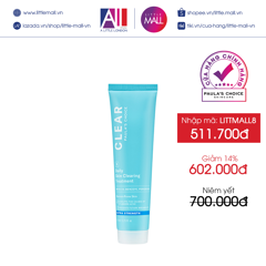 Chấm mụn Paula's Choice Clear Extra Strength Daily Skin Clearing Treatment With 5% Benzoyl Peroxide 67ml (Nhập khẩu)