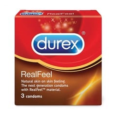 Bcs Durex Real Feel (H/3C)