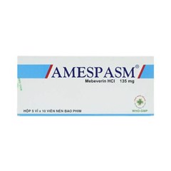 Amespasm Mebeverin 135Mg (H/50V)