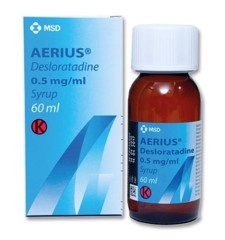 Aerius Desloratadine 0.5mg/Ml Syrup Msd (C/60ml)