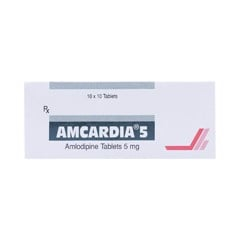 Amcardia 5mg Unique (H/100v)