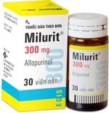 Milurit Allopurinol 300Mg Egis Pharma (C/30V)