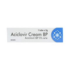 Aciclovir Cream Bp 5% Brawn (Lốc/10T/5Gr)