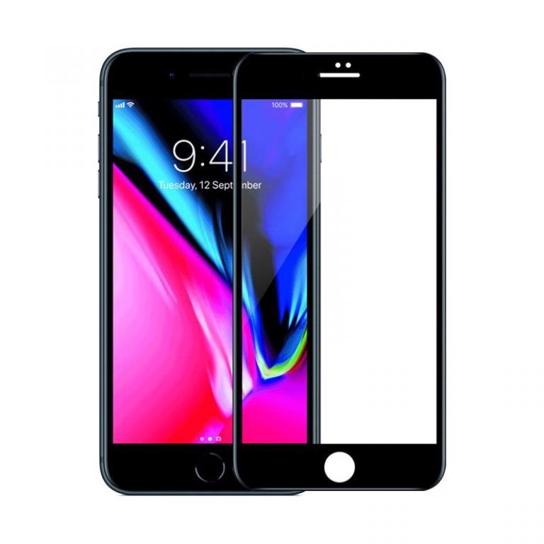 MIẾNG DÁN CƯỜNG LỰC MIPOW KINGBULL REAL HD FOR IPHONE 7/8 , 7/8PLUS (BLACK, WHITE)