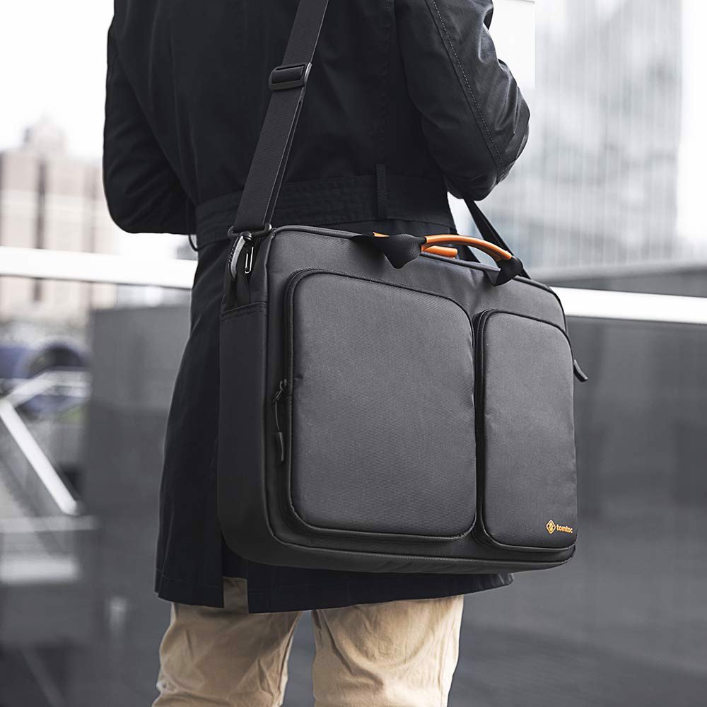 Túi Xách Tomtoc (USA) Travel Briefcase For Ultrabook 15″ Black