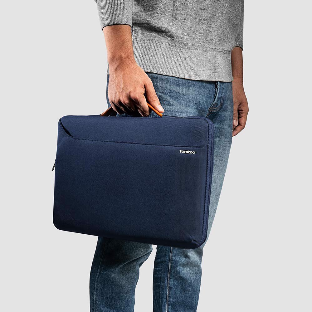 "Túi Xách Chống Sốc Tomtoc (USA) Spill-Resistant Macbook Pro 13"" Dark Blue"