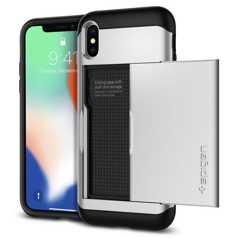 Ốp Iphone X Spigen Slim Armor CS