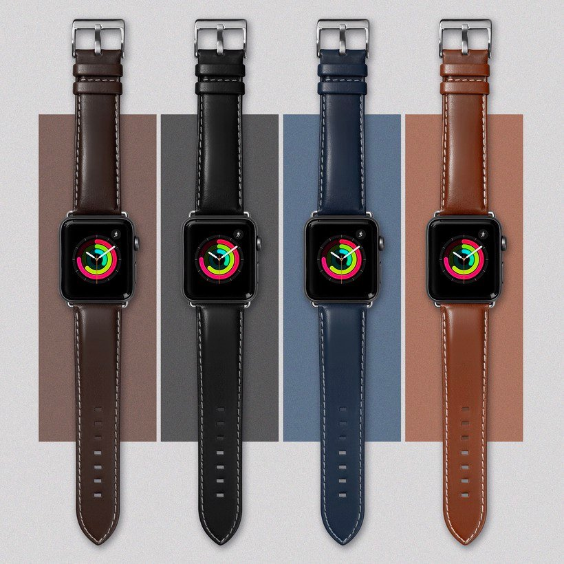 Oxford Watch Strap For Apple Watch Series 1/2/3 ( 38mm )