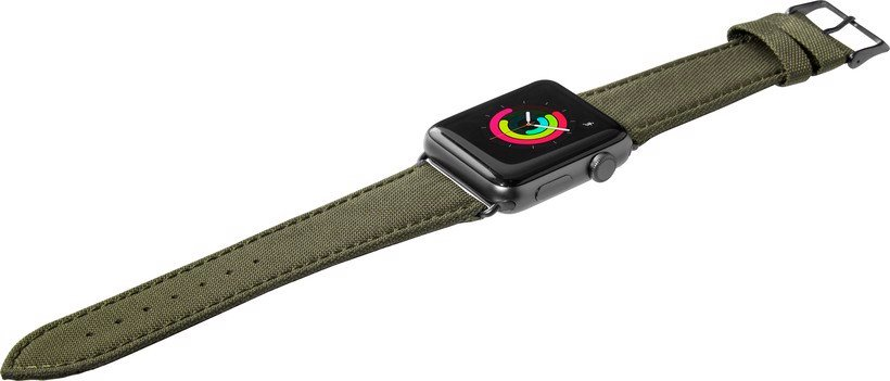 Technical Watch Strap For Apple Watch Series 1/2/3 ( 38mm )