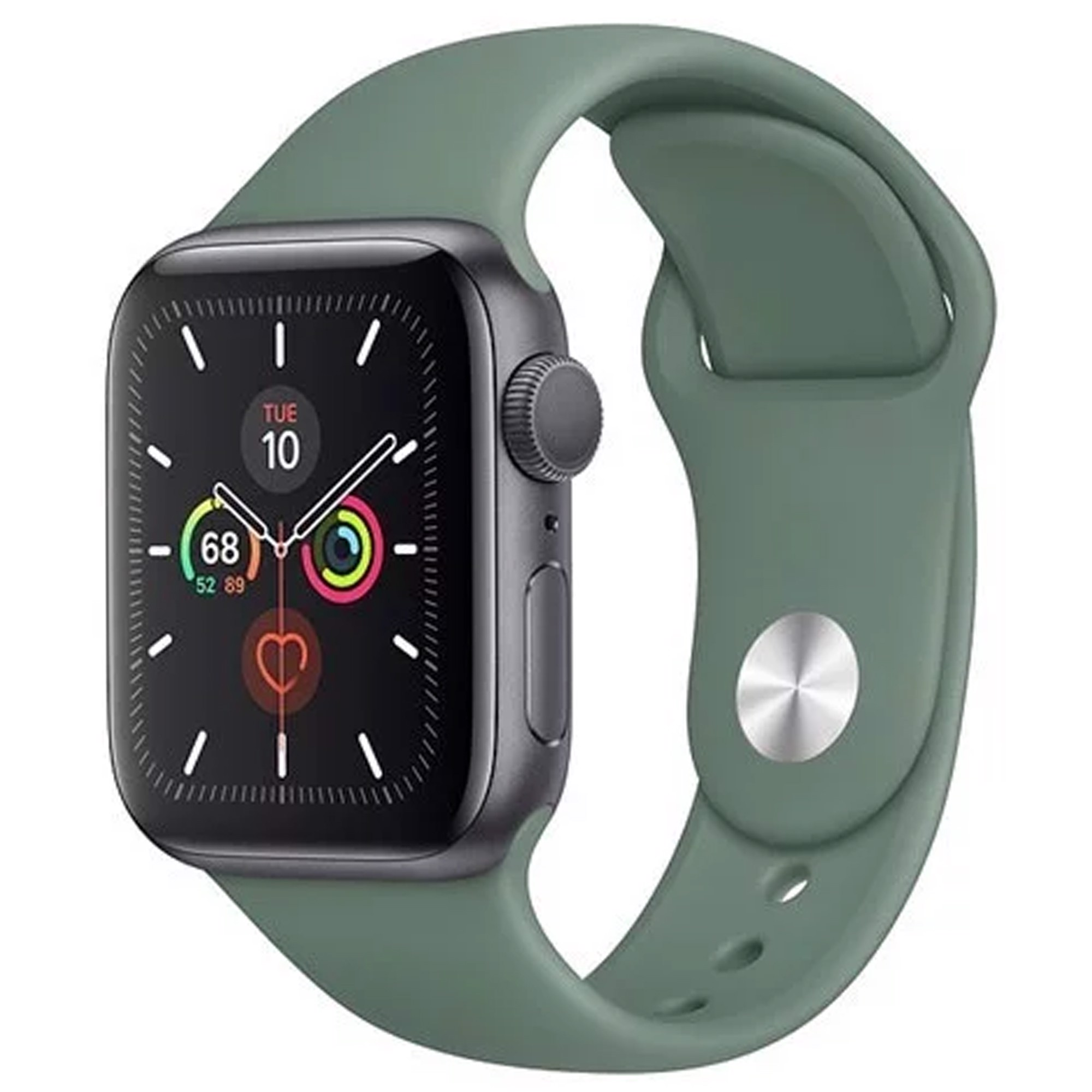 Apple Watch Series 5 KĐ-DX 40mm Sport MWV82 LL Zin Đẹp 99% Fullbox PK Zin BH Apple 7/6/2021 TL BH 01 Tháng