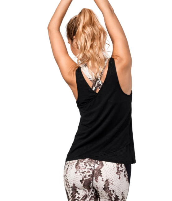 Áo Tập Yoga Manduka Breeze Cross Over Tank
