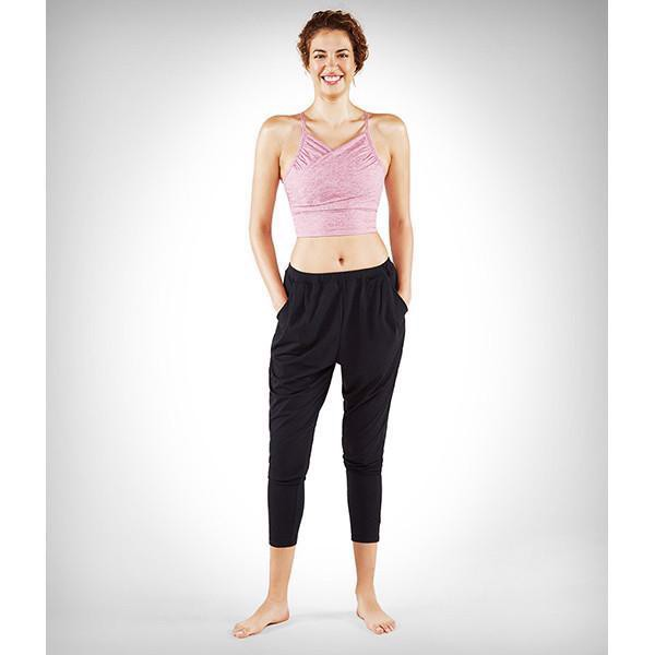 Áo Tập Yoga Manduka Wrap Up Bralette-Raspberry Heather
