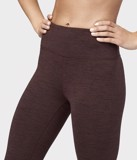 Quần Tập Yoga Manduka Essential Cropped Legging - Heather fig - Size M