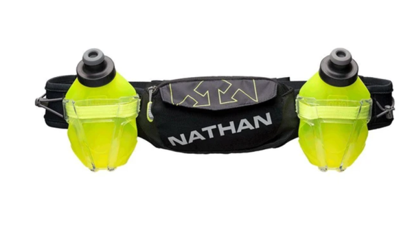 Đai Chạy Bộ Nathan TrailMix Plus Hydration Belt - Black
