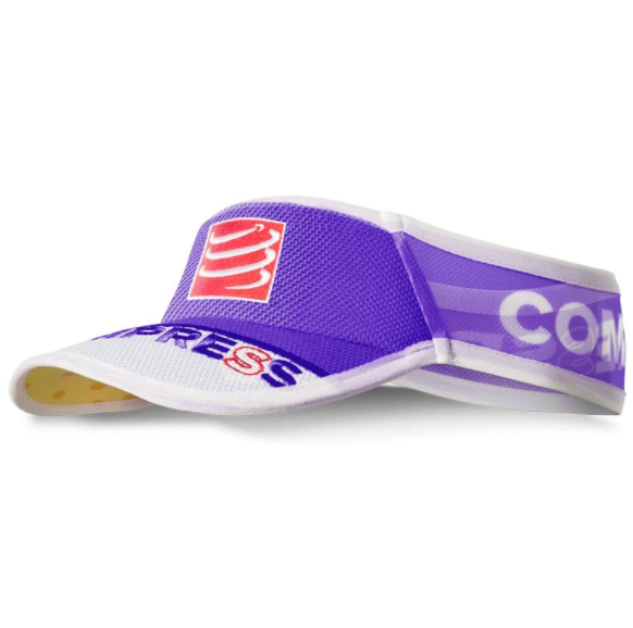 NÓN CHẠY BỘ LƯỠI TRAI COMPRESSPORT COMPRESSPORT ULTRALIGHT VISOR - FLUO PURPLE
