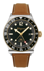 1898 Sport Quartz Black Dial Watch SFDU00119
