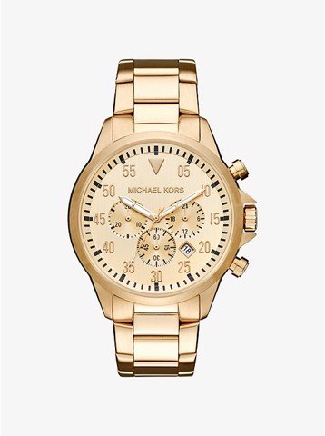 Gage Gold-Tone Watch MK8491