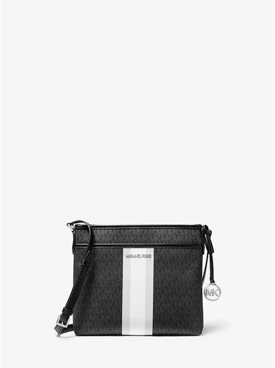 Bedford Small Logo Stripe Crossbody Bag 35T0SBFC1B