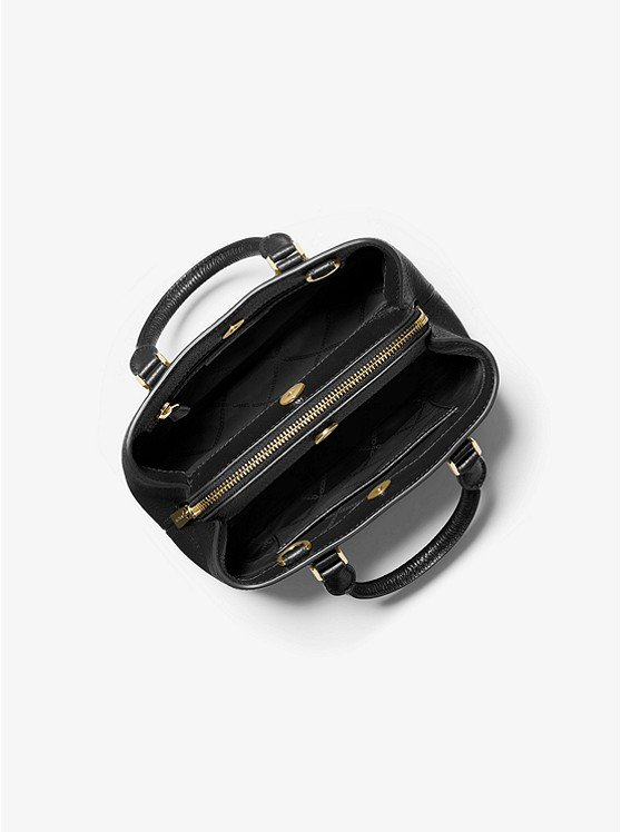 Camille Small Pebbled Leather Satchel 30T0GCAS1L