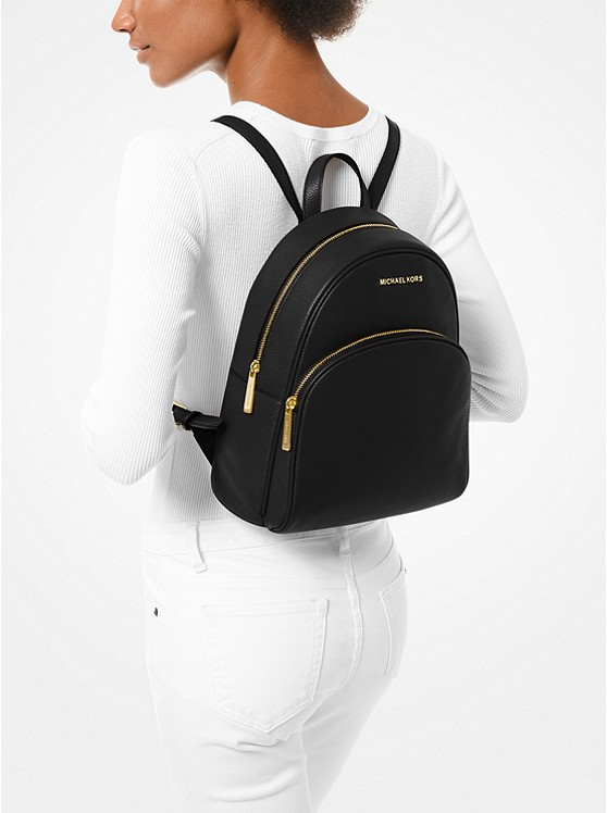 Abbey Medium Pebbled Leather Backpack 30S0GAYB6L