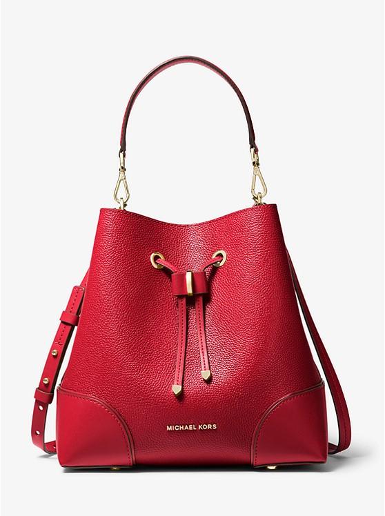 Mercer Gallery Medium Pebbled Leather Shoulder Bag 30F9GZ5L6L