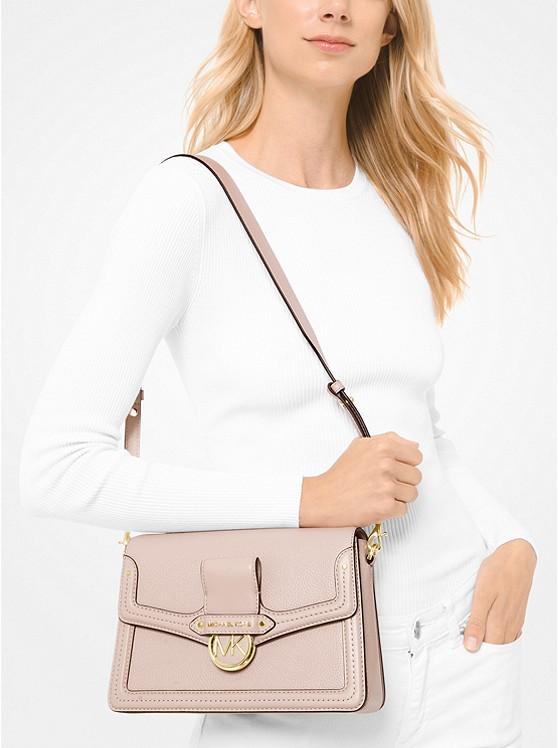 Jessie Medium Pebbled Leather Shoulder Bag 30F9GI6L2L