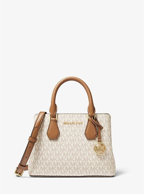 Camille Small Logo and Leather Satchel 30F9GCAS1B