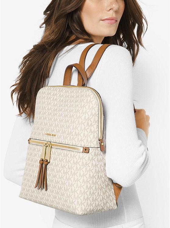 Rhea Medium Slim Logo Backpack 30H6GEZB2V