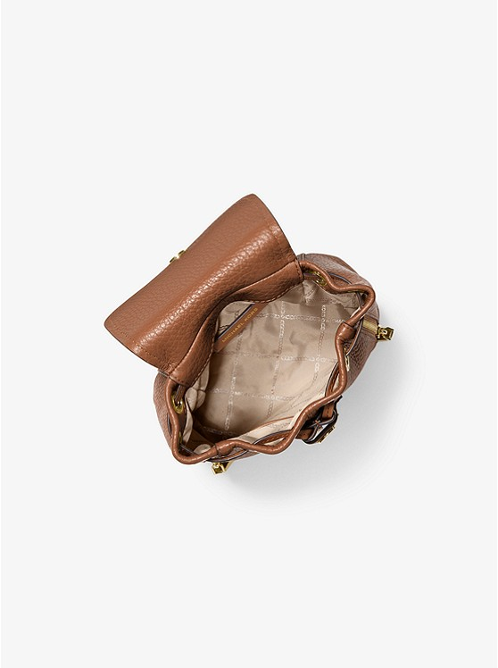 Viv Extra-Small Pebbled Leather Backpack 30H9GVBB0L