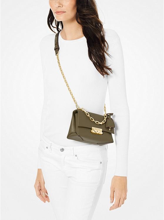 Cece Extra-Small Leather Crossbody Bag 32S9G0EC0L