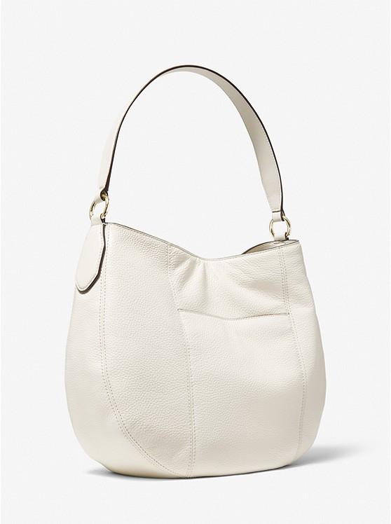 Brooke Large Pebbled Leather Shoulder Bag 35T0GOKH3L