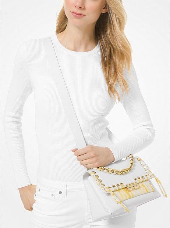 Cece Medium Tie Dye Leather Shoulder Bag 30T0G0EL8I
