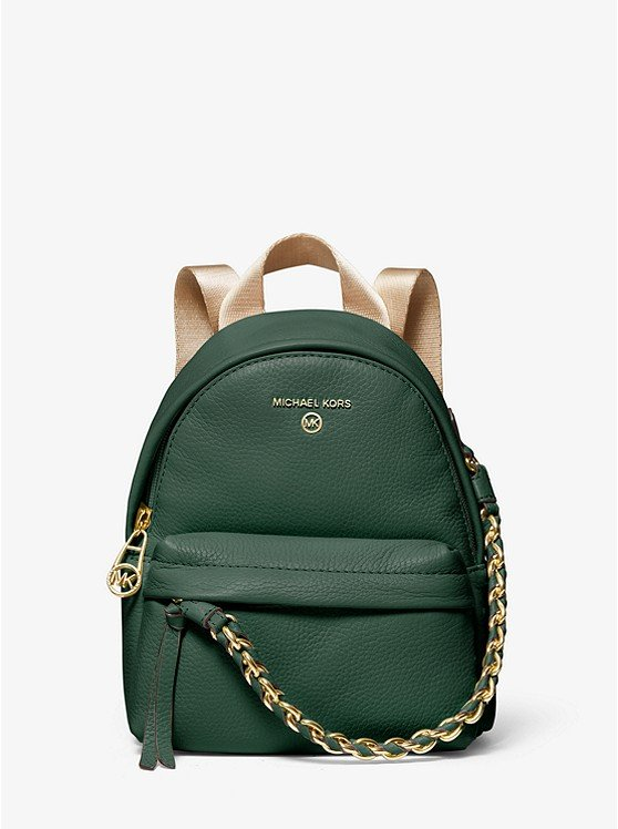 Slater Extra-Small Pebbled Leather Convertible Backpack 30T0G04B0L
