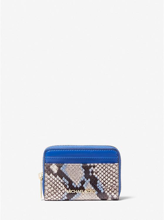 Jet Set Travel Python-Embossed Leather Wallet 35T0GTVD2G