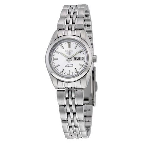 5 Automatic Silver Dial Stainless Steel Ladies Watch SYMA27