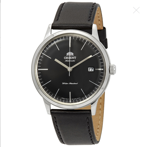 2nd Generation Bambino Automatic Black Dial Men's Watch FAC0000DB0