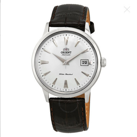 2nd Generation Bambino Automatic White Dial Men's Watch FAC00005W0