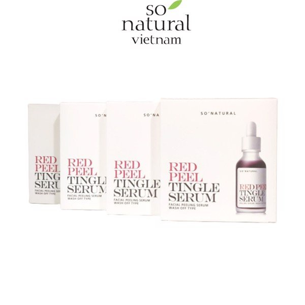 DƯỠNG CHẤT TRỊ MỤN RED PEEL TINGLE SERUM SAMPLE 2.5ML X 5
