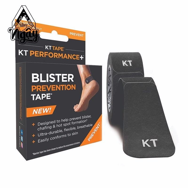 HỘP 30 MIẾNG DÁN CHỐNG PHỒNG RỘP KT TAPE BLISTER PREVENTION TAPE