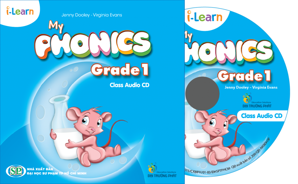 i-Learn My Phonics Grade 1 Class CD