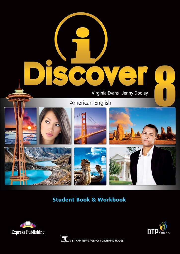 i-Discover 8 Student's Book & Workbook