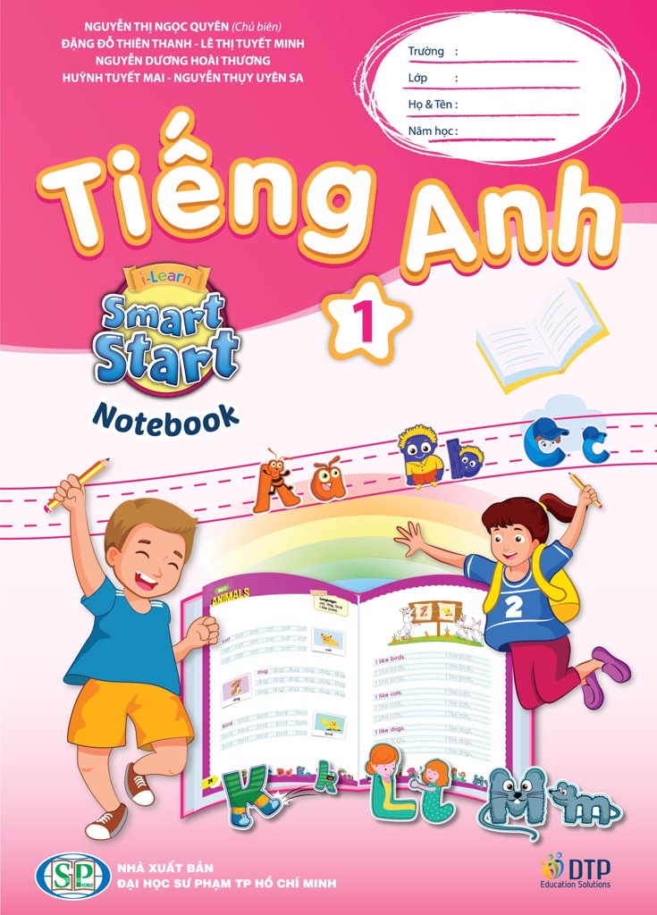 Tiếng Anh 1 i-Learn Smart Start - Notebook