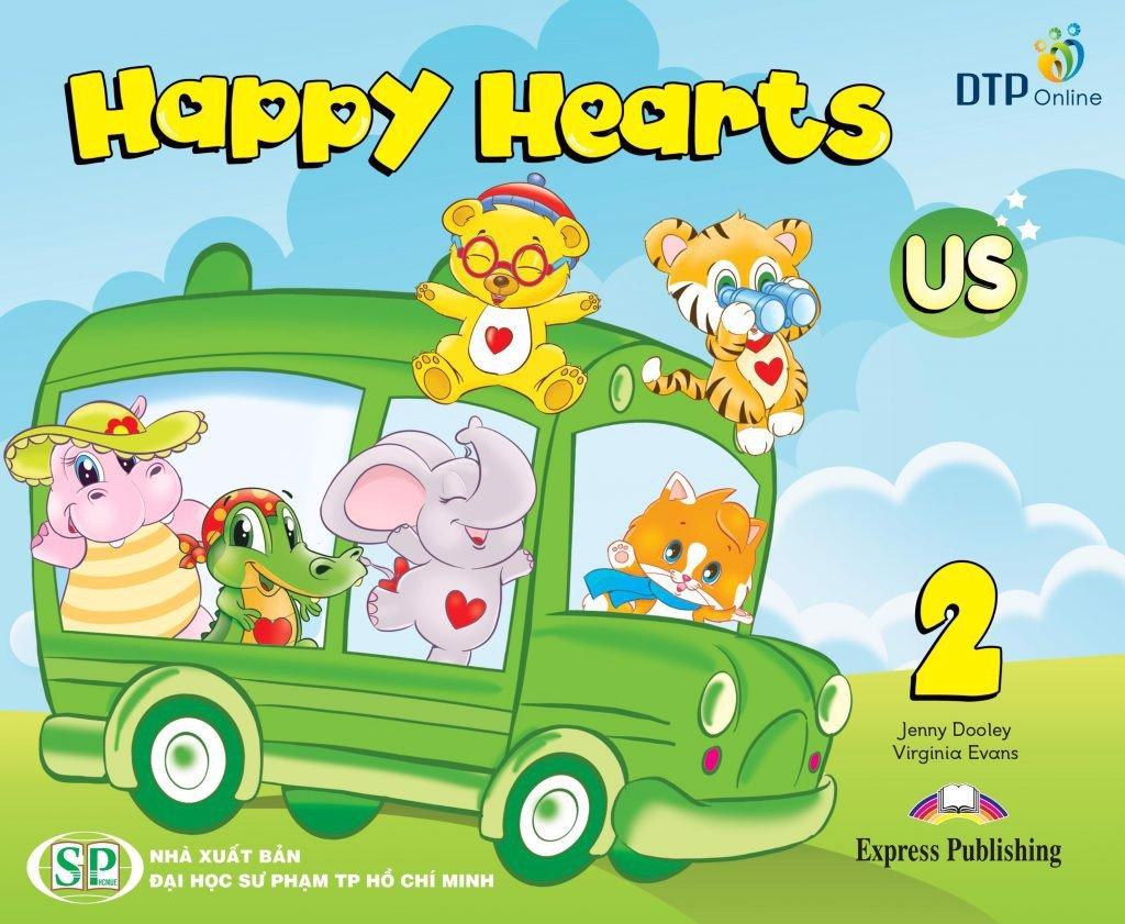 Happy Hearts US 2 Pupil's Book (With Stickers)