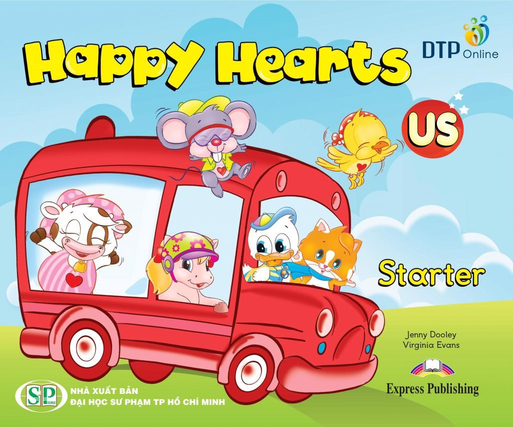 Happy Hearts US Starter Pupil's Book (With Stickers)
