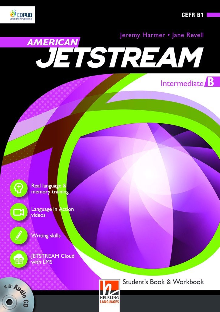American Jetstream Intermediate B Student's book & Workbook