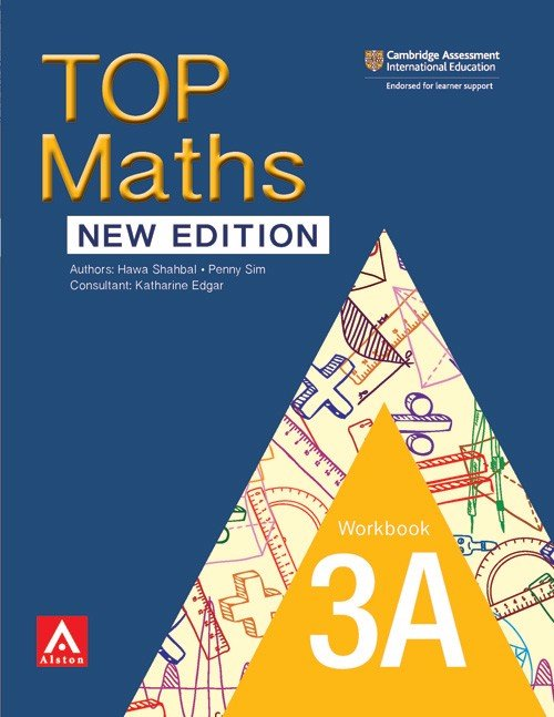 TOP Maths (New Edition) Workbook 3A