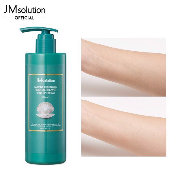 Sữa Tắm Dưỡng Trắng JM Solution Marine Luminous Pearl In-Shower Tone Up Cream